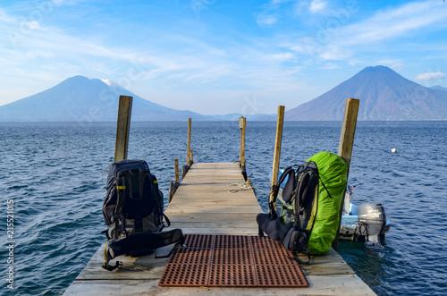 Aluminium Pier Lake Atitlan