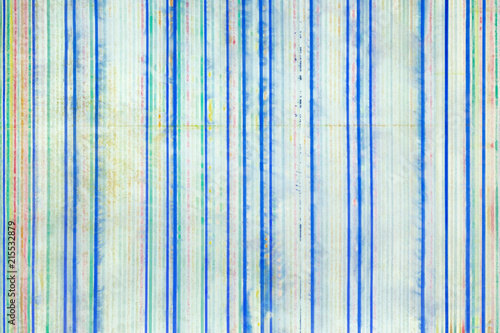 Abstract background, vertical colored stripes on paper