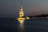 Istanbul Night, Maiden's Tower  - 215542649