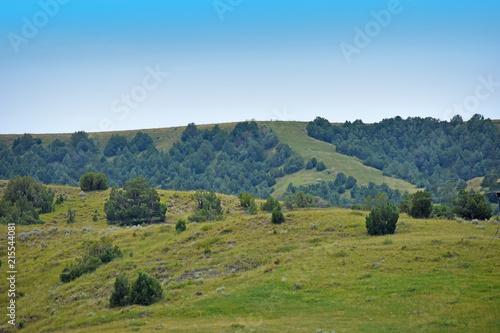Canvas Blauw South Dakota Landscape