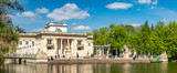 Royal Palace on the Water in Lazienki Park, Warsaw - 215545209