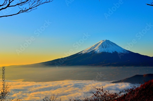 Foto Spatwand Honing mountain