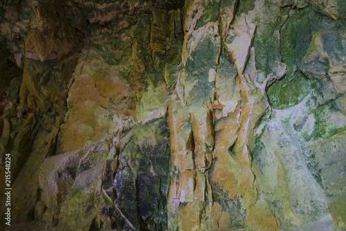 Aluminium Stenen Multi-colored natural stone texture