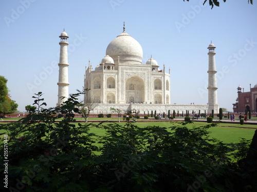 Foto Murales Taj Mahal - India - Seven Wonders of the World