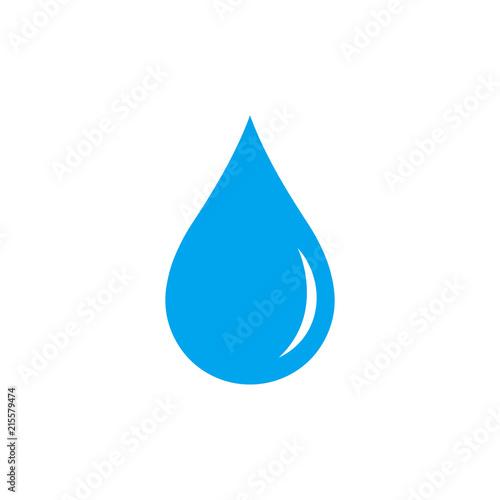 Water drop. Icon. Vector. - 215579474