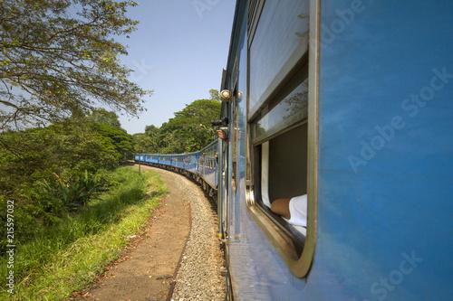 Travel by traun sri Lanka