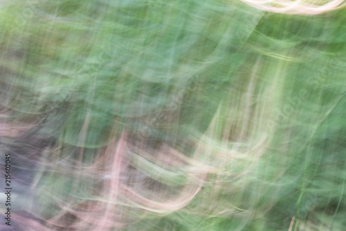 Aluminium Abstractie Vague image of a surface of the water of a stream