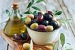 Leinwanddruck Bild - Mixed olives