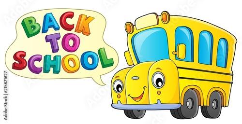 Canvas Voor kinderen Back to school topic 9