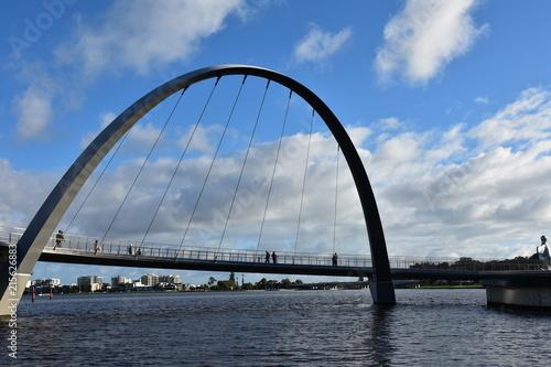 In de dag Sydney Elizabeth Quay, Perth