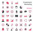 Creativity & Marketing - Iconset