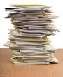 Stack of Documents / Files - 215644419