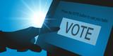 élection - américaine - voter - écran - électeur - pouvoir - politique - choisir - démocratie - 215661263