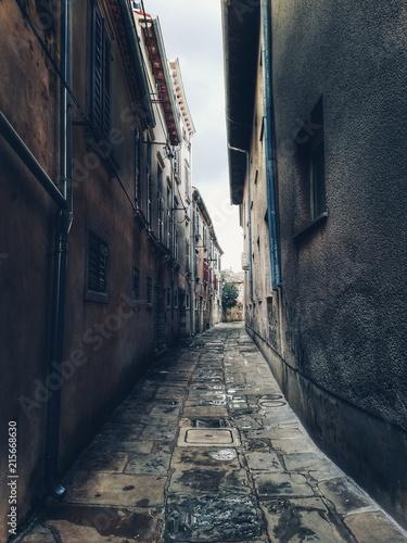 Aluminium Smalle straatjes Alley