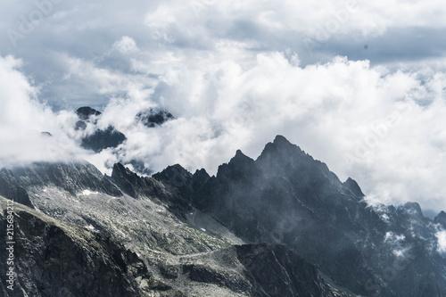 View from Mala Vysoka in Slovakian Tatras