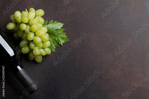 Wine and grape - 215695467