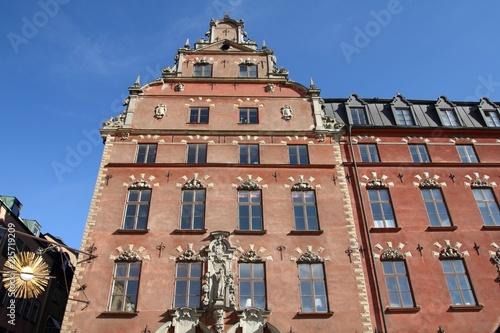 Foto Spatwand Stockholm Stockholm Old Town