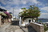 Typical Whitewashed Houses in Adamantas, Milos, Greece - 215722669