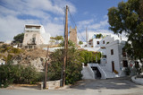 Typical Whitewashed Houses in Adamantas, Milos, Greece - 215728675