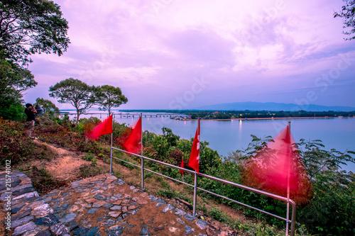 Aluminium Purper Chanthaburi:Phairi Phinat Fort area, overlooking Laem Singh Beach, the atmosphere is natural, Thailand