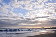Quadro Large Waves Breaking on the Coast