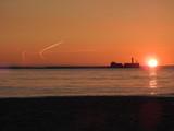 coucher de soleil boulogne sur mer
