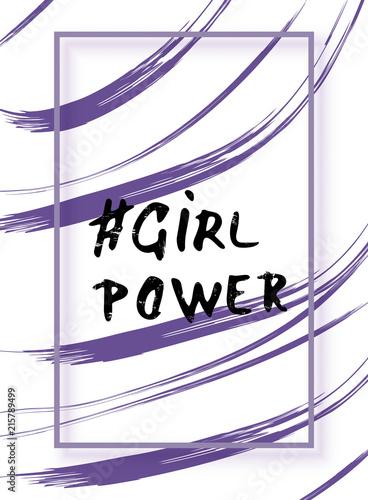 karta-moc-dziewczyny-ilustracji-wektorowych