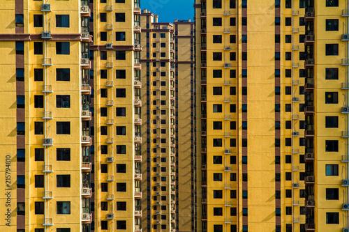 Foto Spatwand Shanghai Chinese buildings, Beijing, China