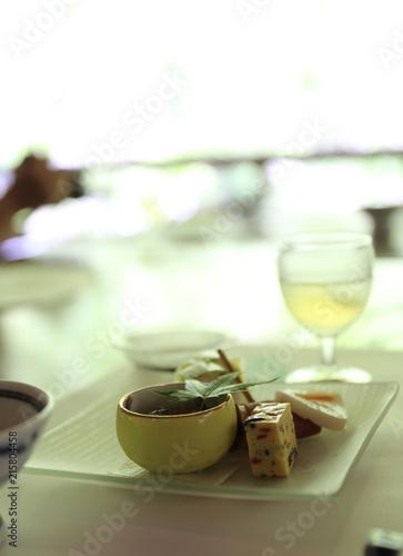 Aluminium Kyoto 京都の川床の粋な料理