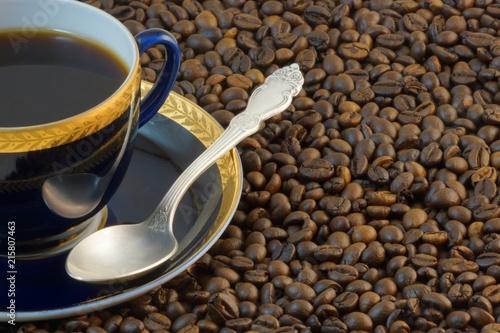 Foto Spatwand Koffiebonen coffee