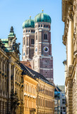 Famous Munich Cathedral - Liebfrauenkirche - 215811801