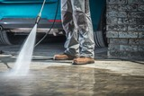 Stone Driveway Cleaning - 215815890