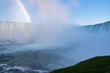 Niagara falls waterfalls view © anovva