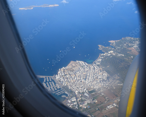 Ibiza Island from the air  - 215890403