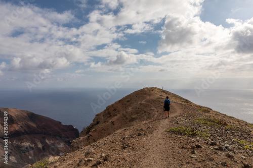 Fotobehang Donkergrijs Ascension Island