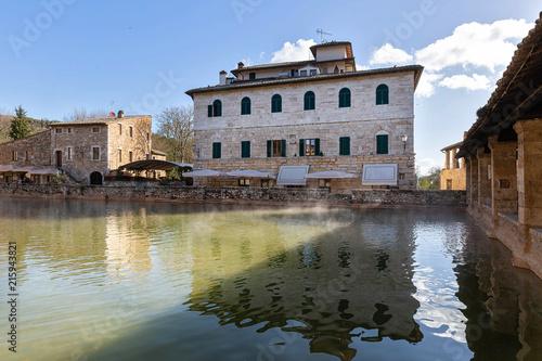 Sticker Bagno Vignoni, Tuscany
