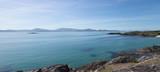 Panorama of Western Irish coastline