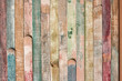 vintage and color background of wooden bars