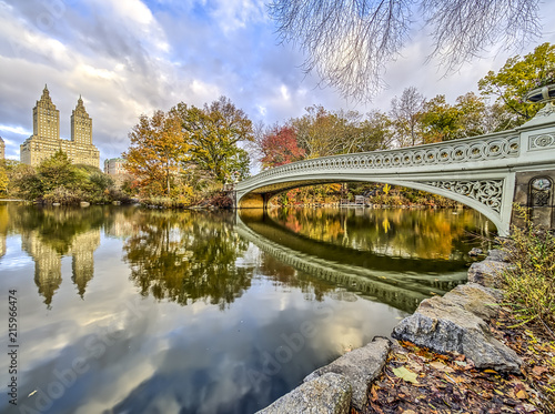 Foto Murales Bow bridge Central Park