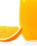 Orange juice vertical