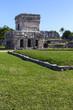 Древний город Тулум в Мексике на берегу океана.Горизонтально.