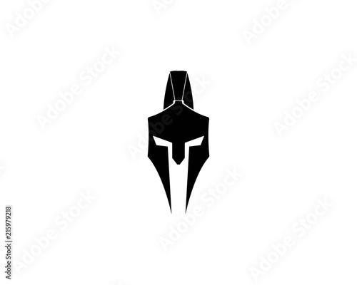 spartan helmet logo template vector icon design buy photos ap