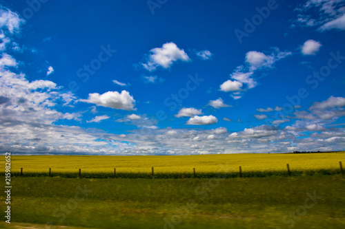 Canvas Lente Montana Clouds