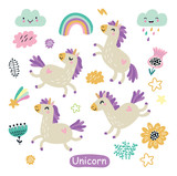 Cute unicorns - 215990407