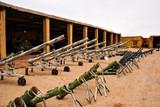Cañones, tanques y morteros