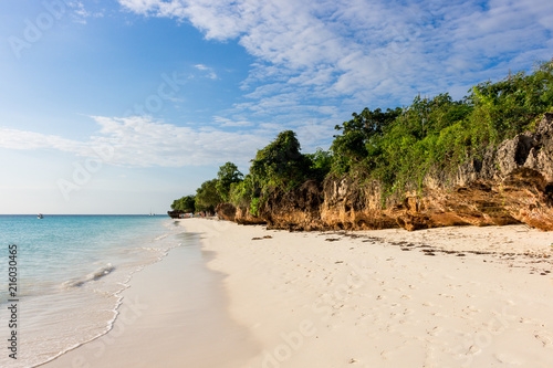 Plexiglas Tropical strand Sansibar Dream Beach, Africa