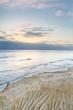 Sun setting over the Ocean off California