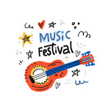 Music Festoval Illustration