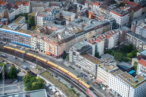 Canvas Berlijn Skyline Berlin Germany