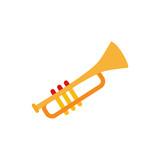Horn Music Entertainment Logo Icon Design - 216079462